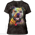 Beware of Pit Bulls...They Will Steal Your Heart - 28-3796 - Ladies Fitted Tee