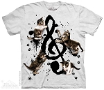 Music Kittens - 10-4974 - Adult Tshirt