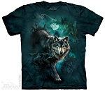Night Wolves Collage - 10-3303 - Adult Tshirt