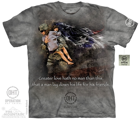 Operation Hat Trick - Heroic Soldier - Adult Tshirt
