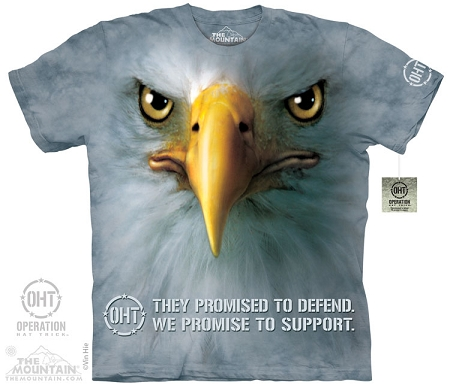 Operation Hat Trick - Support Eagle - Adult Tshirt