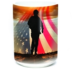 Operation Hat Trick - Soldier Silhouette - 57-4824-0901 - Coffee Mug