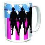 Operation Hat Trick Three Troops - 57-4820-0900 - Coffee Mug