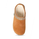 Old Friend Footwear - 340153 - Women's Terry Cloth Clog Slipper - Tan