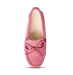 Old Friend Footwear - 340155 - Women's Molly Moccasin Slipper - Pink