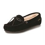 Old Friend Footwear - 340158 - Women's Sheepskin  Mo Moccasin - Black
