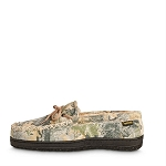 Old Friend Footwear - 421124 - Men's Camouflage Moccasin - 100% Sheepskin Lining