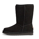 Old Friend Footwear - 441196 - Women's Sheepskin Dolly Boot - Black