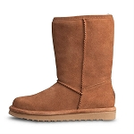 Old Friend Footwear - 441196 - Women's Sheepskin Dolly Boot - Chestnut