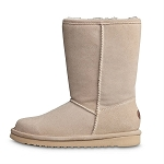 Old Friend Footwear - 441196 - Women's Sheepskin Dolly Boot - Sand