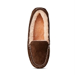 Old Friend Footwear - 441310 - Women's Sheepskin Bella Moccasin - Chocolate Brown
