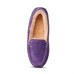Old Friend Footwear - 441310 - Women's Sheepskin Bella Moccasin - Purple