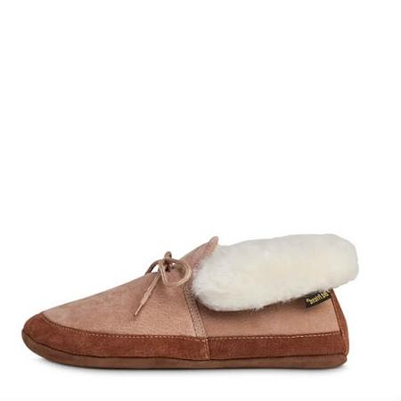 00eb296d92c Old Friend Footwear - 481192 - Men s Sheepskin Softsole Ankle Boot Slipper  - Chestnut