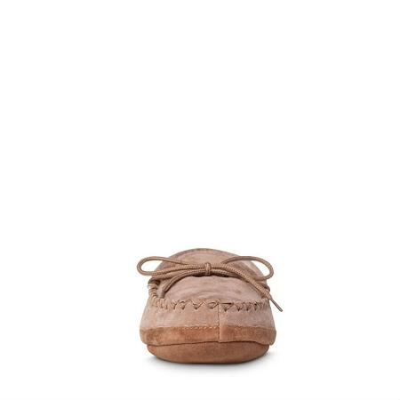 af83250e7e2 Old Friend Footwear - 481193 - Men s Sheepskin Softsole Moccasin - Chestnut