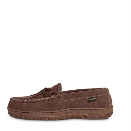 Old Friend Footwear - 588161 - Men's Wisconsin Loafer Moccasin - Chocolate