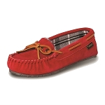Old Friend Footwear - 340156 - Women's Kelly Moccasin Slipper - Red