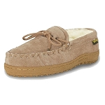Old Friend Footwear - 441165 - Women's Sheepskin  Loafer Moccasin - Chestnut