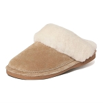 Old Friend Footwear - 441169 - Women's Sheepskin Scuff Slipper - Chestnut