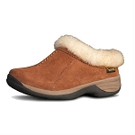 Old Friend Footwear - 441192 - Women's Sheepskin Snowbird Slipper - Chestnut