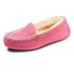 Old Friend Footwear - 441310 - Women's Sheepskin Bella Moccasin - Pink