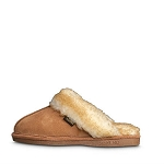 Old Friend Footwear - 548145 - Women's Fleece Buffy Slipper - Tan