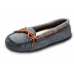 Old Friend - Women's Jemma Moccasin - 441320 - 100% Sheepskin Insole - Grey