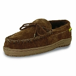 Old Friend - Women's Loafer Moccasin - 481166 - 100% Sheepskin Lining - Dark Brown