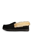 Old Friend Footwear - 548155 - Women's Fleece Zoey Slipper - Black
