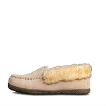 Old Friend Footwear - 548155 - Women's Fleece Zoey Slipper - Sand