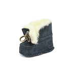 Oomphies For Kids - Baby Moccasin - Navy Suede - OK1291
