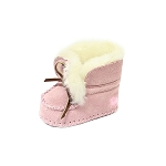 Oomphies For Kids - Baby Moccasin - Pink Suede - OK1291