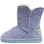 Oomphies For Kids - Little Liberty Kids Boot - Blue Suede - OK1596
