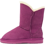 Oomphies For Kids - Little Liberty Kids Boot - Pink Suede - OK1596