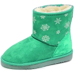 Oomphies For Kids - Youth Lullaby Boot - Mint Suede - OK1461