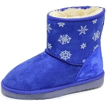 Oomphies For Kids - Youth Lullaby Boot - Navy Suede - OK1461