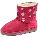 Oomphies For Kids - Youth Lullaby Boot - Hot Pink Suede - OK1461