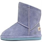 Oomphies For Kids - Sierra Kids Boot - Blue Suede - OK1597