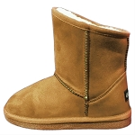 Oomphies For Kids - Sierra Kids Boot - Chestnut Suede - OK1597