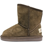 Oomphies For Kids - Sierra Kids Boot - Chocolate Suede - OK1597