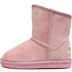 Oomphies For Kids - Sierra Kids Boot - Pink Suede - OK1597