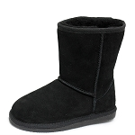 Oomphies For Kids - Youth Classic Boot - Black Suede - Y0712