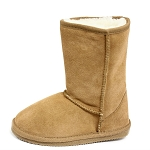 Oomphies For Kids - Youth Classic Boot - Chestnut Suede - Y0712