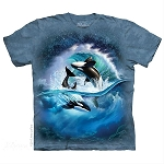 Orca Wave - 10-5909 - Adult Tshirt