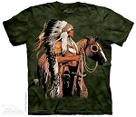 Painted and Proud - 10-1190 - Adult Tshirt - Native American