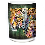 Painted Cheetah - 57-6321-0900 - Coffee Mug