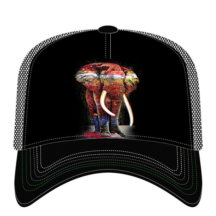 Painted Elephant - 76-6322 - Trucker Hat