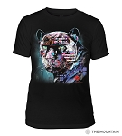 Painted Jaguar - 54-6324- Triblend T-shirt