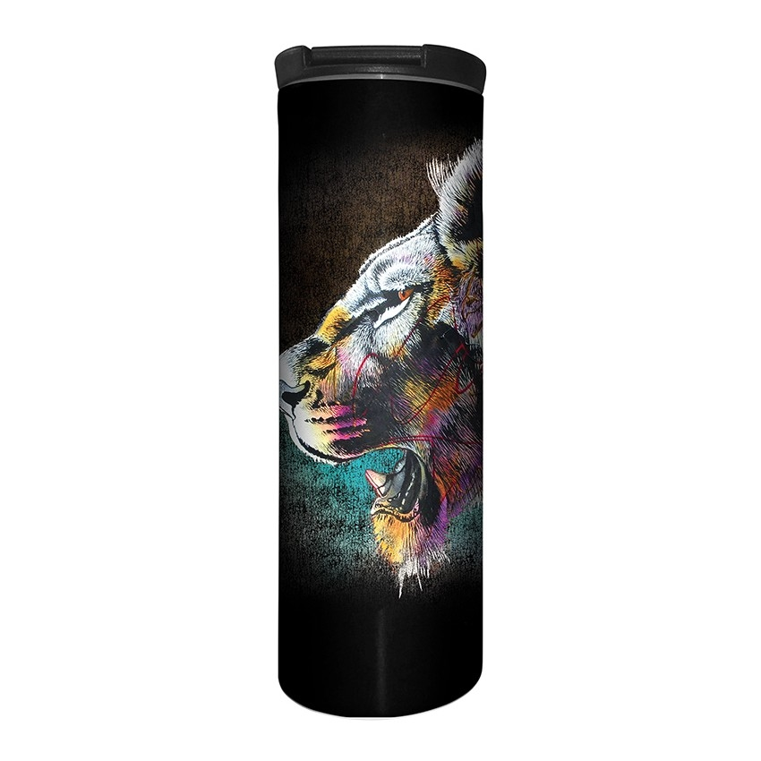 Painted Lion - 59-6323 - Stainless Steel Barista Travel Mug