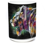 Painted Lion - 57-6323-0900 - Coffee Mug