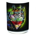 Painted Wolf - 57-6320-0900 - Coffee Mug